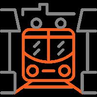 Транспортные узлы: ж/д вокзалы, аэропорты и автостанции, депо