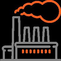 Промышленные предприятия, фабрики, заводы, бытовые сооружения