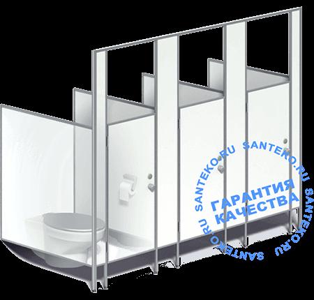 Перегородки детские, кабинки в детский туалет из ЛДСП 16-25 мм. Гарантируем высокое качество изготовления