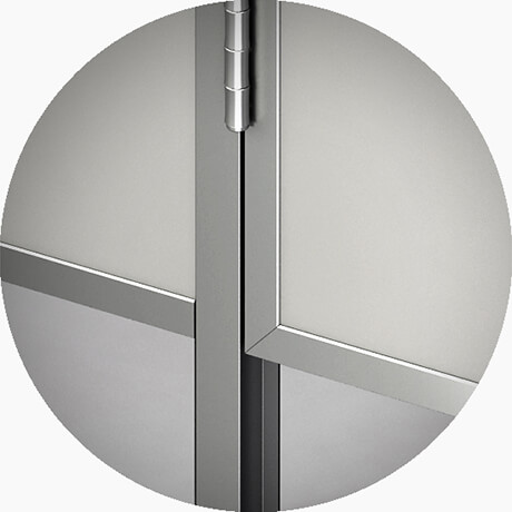 Узел №4 Нижнее обрамление панелей алюминиевым профилем - Сантеко
